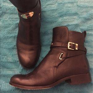 Black Michael Kors boots Size 8